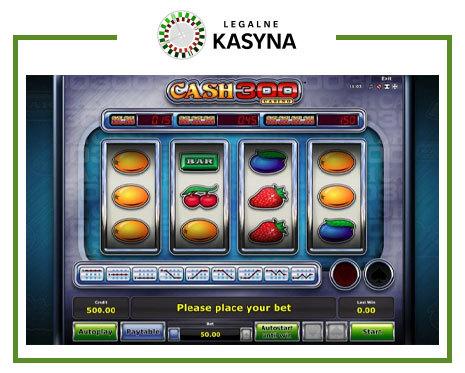 automat owocowki Cash 300 Casino