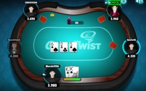 GameTwist poker live