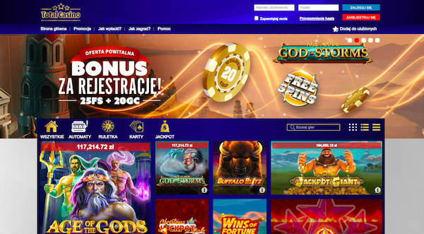 Total Casino - ranking kasyn online