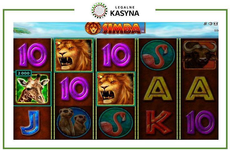 African Simba gra automat