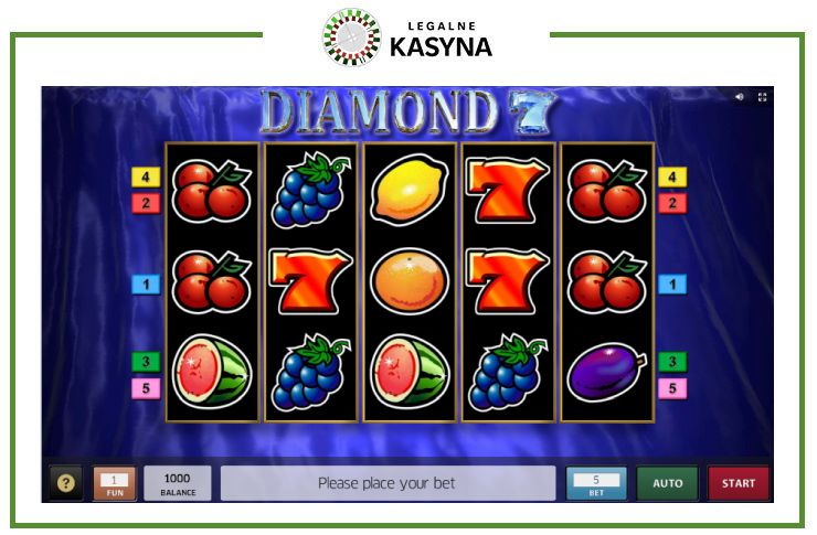 gra automat diamond 7 slot