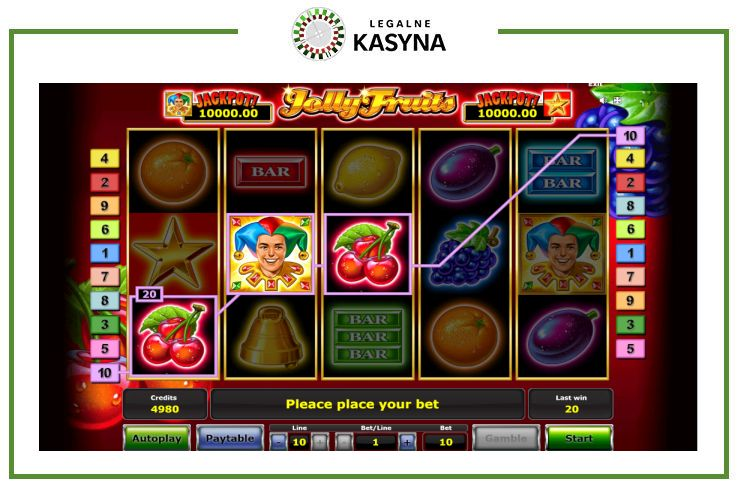 gra automat jolly fruits