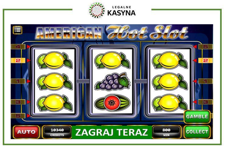 american hot slot automaty online