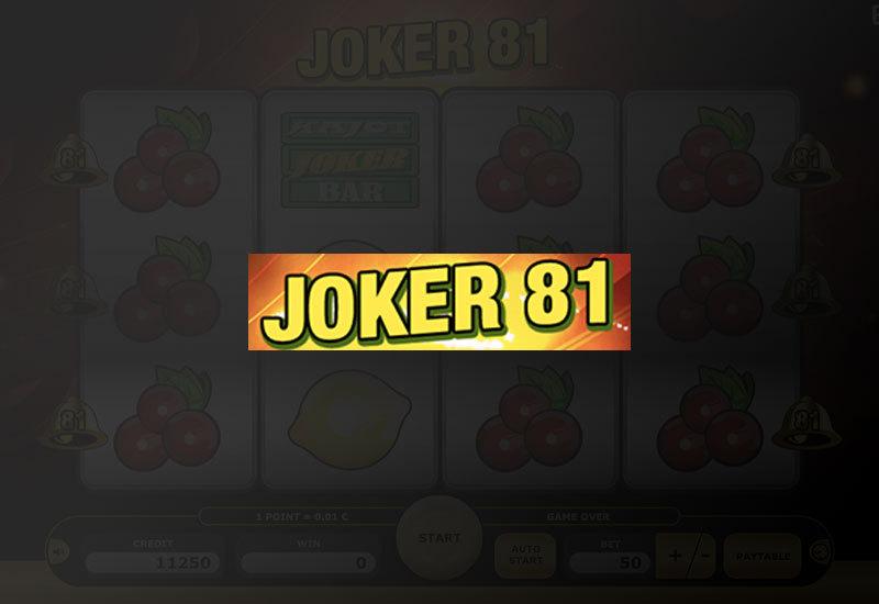 Joker 81 online
