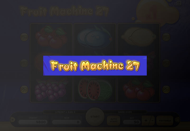 fruit machine 27 online
