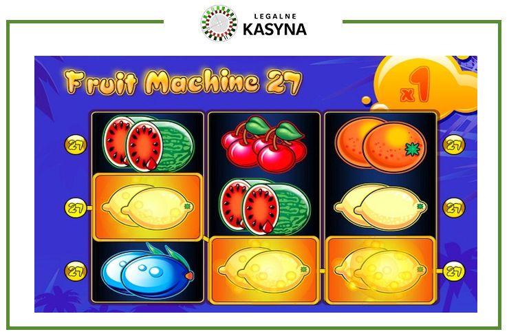 fruit machine 27 wygrana