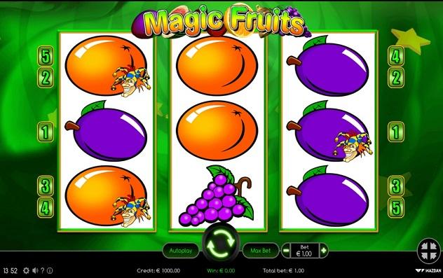 Magic Fruits online