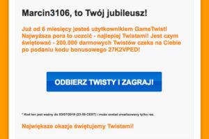 gametwist kod kuponu
