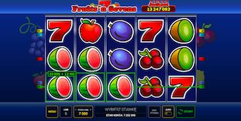 Fruits'n Sevens online