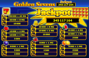 Golden Sevens automat do gry