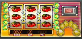 Jackpot 6000 automat do gry -ściana