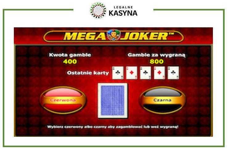 mega joker gamble