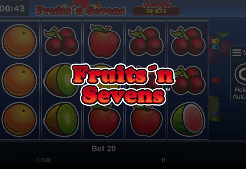 Fruits and Sevens online