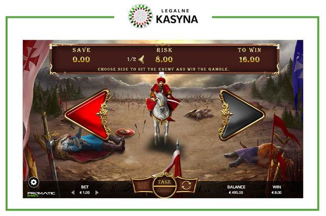 Hussars - opcja gamble