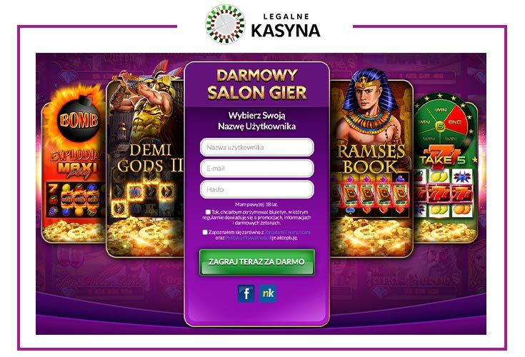 Jackpot kasyno online za darmo rejestracja