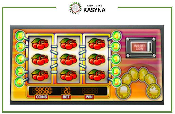 Jackpot 6000 automat do gry - ściana