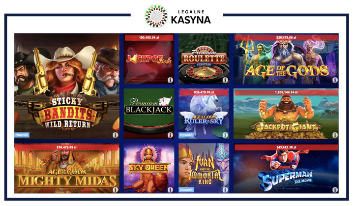 Total Casino - ranking kasyn online