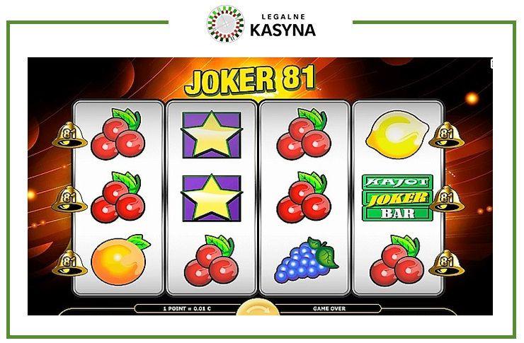 joker 81 automat online