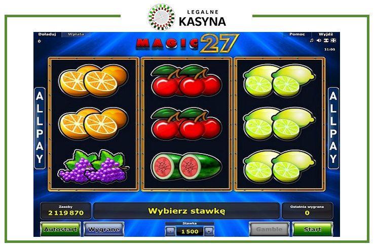 magic 27 slot