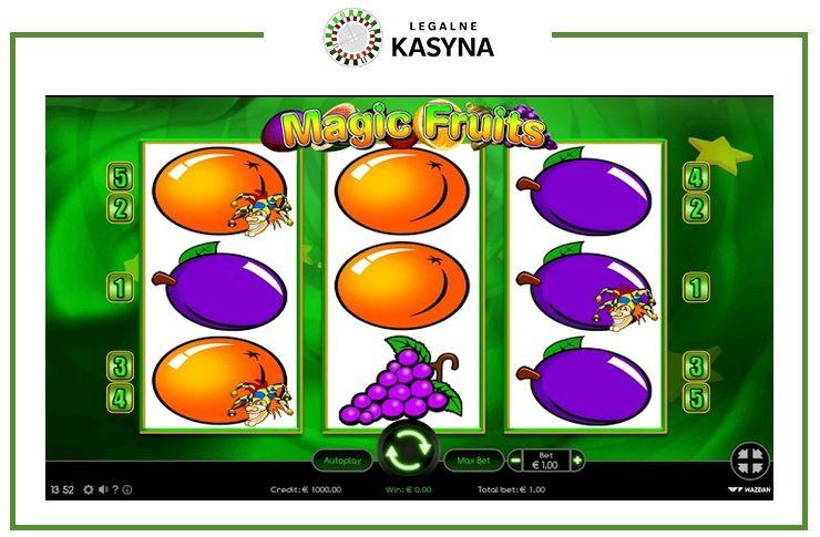 magic fruits gra online